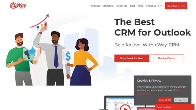 eWay-CRM API koppeling