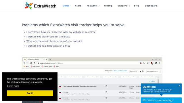 ExtraWatch API koppeling