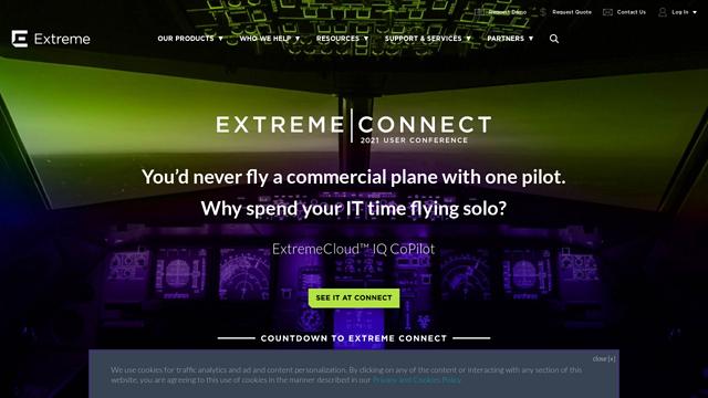 Extreme-Networks API koppeling