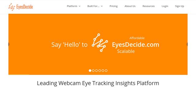 EyesDecide API koppeling