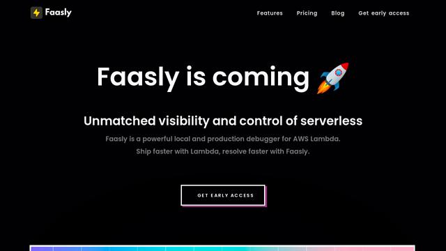 Faasly.io API koppeling