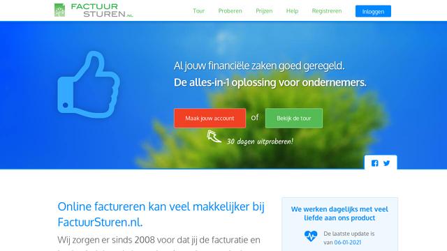 Factuursturen.nl API koppeling