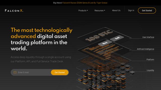 FalconX API koppeling