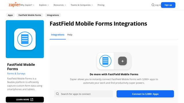 FastField-Mobile-Forms API koppeling