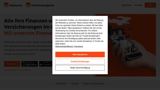 FinanzGuide API koppeling