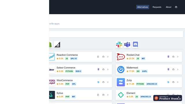 Find-open-source-alternatives-for-your-favorite-apps- -Opensource.builders API koppeling