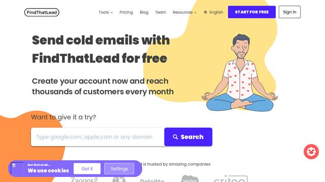 FindThatLead API koppeling