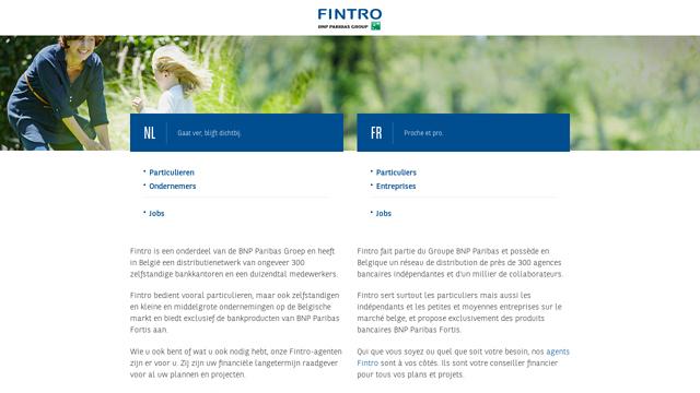 Fintro API koppeling