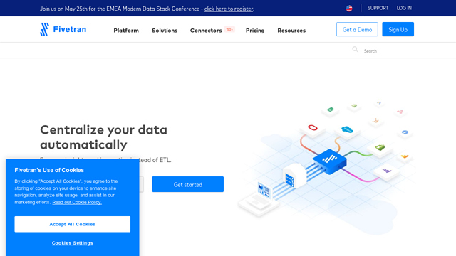 Fivetran API koppeling