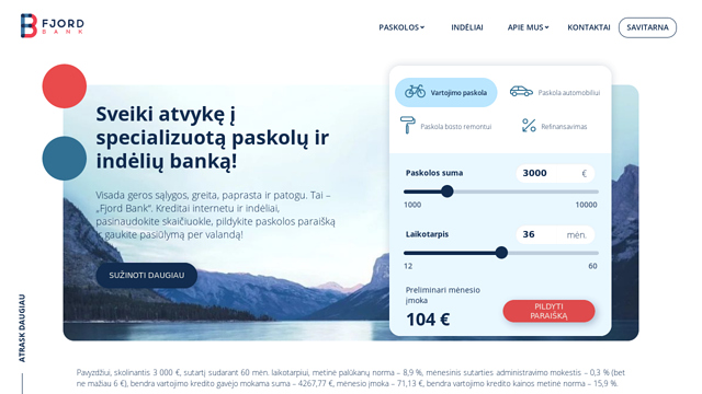 Fjord-Bank API koppeling