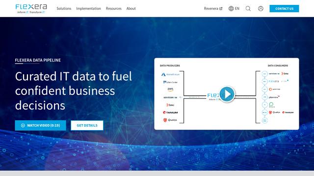 Flexera API koppeling