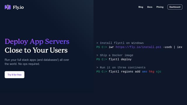 Fly-  API koppeling