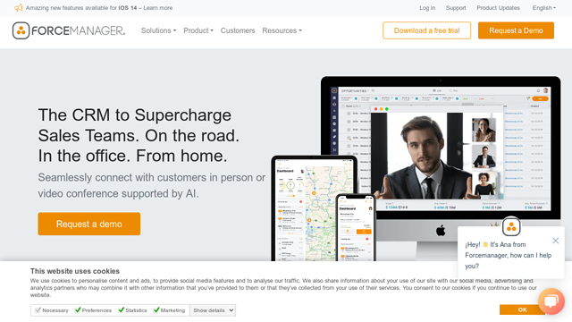 ForceManager API koppeling