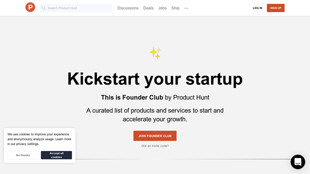 Founder-Club-by-Product-Hunt API koppeling