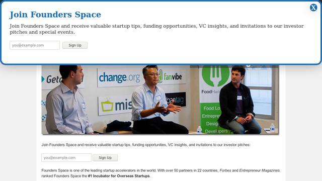 Founders-Space API koppeling