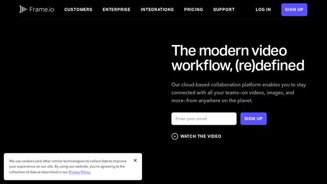 Frame.io API koppeling