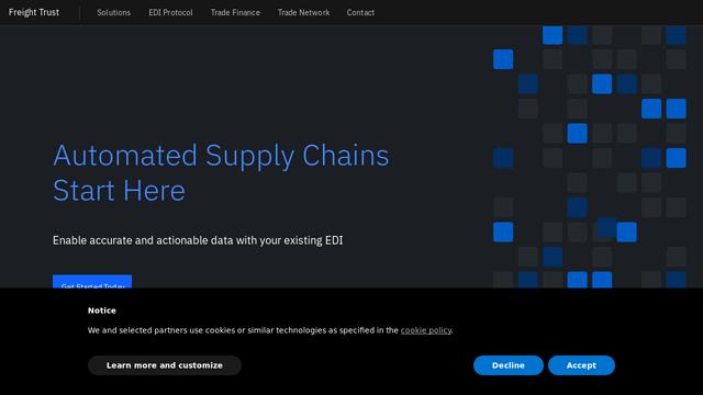 Freight-Trust API koppeling