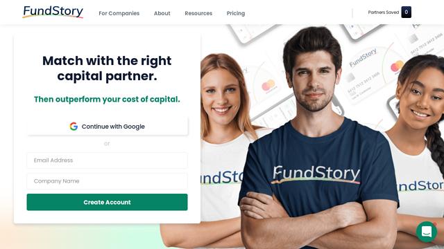 FundStory API koppeling