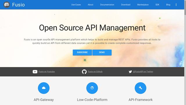 Fusio API koppeling