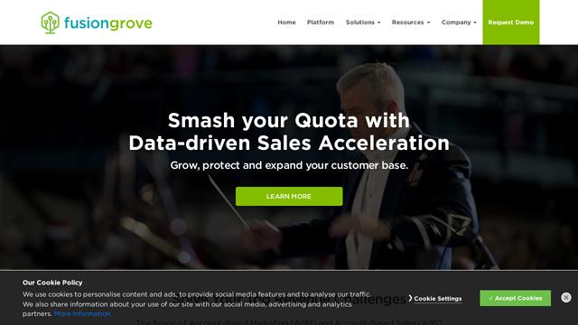 FusionGrove API koppeling