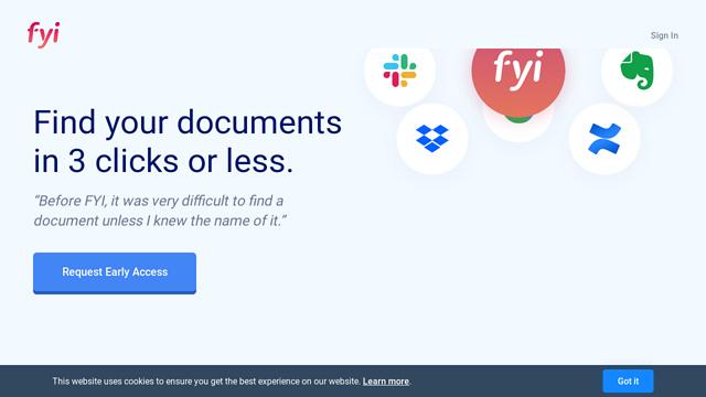FYI API koppeling
