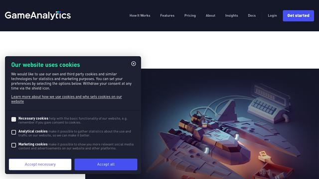 GameAnalytics API koppeling
