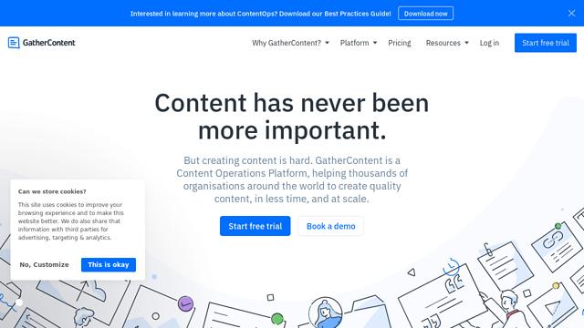 GatherContent API koppeling