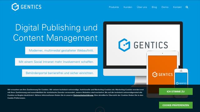 Gentics-CMS API koppeling