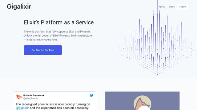 gigalixir API koppeling