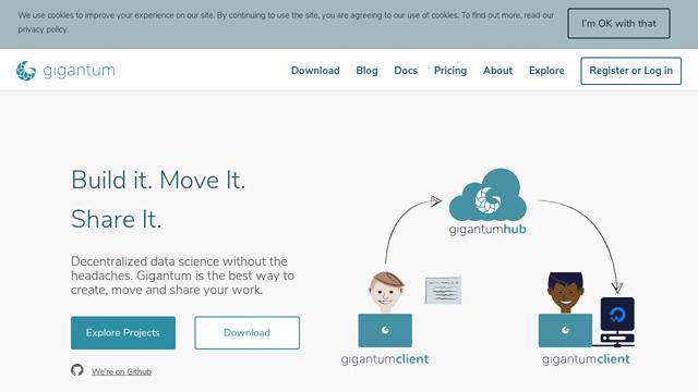 Gigantum API koppeling