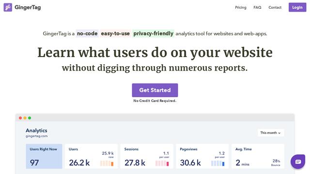 GingerTag-Analytics API koppeling