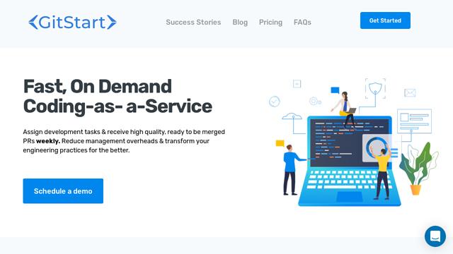 GitStart API koppeling