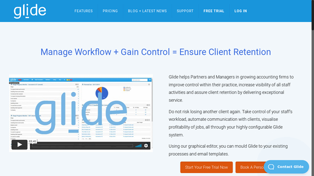 Glide-Practice-Solutions-Limited API koppeling