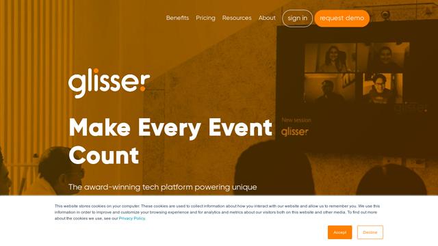 Glisser-Ltd API koppeling