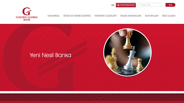 Golden-Global-Bank API koppeling