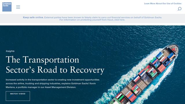 Goldman-Sachs API koppeling