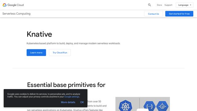 Google-Cloud-Knative API koppeling
