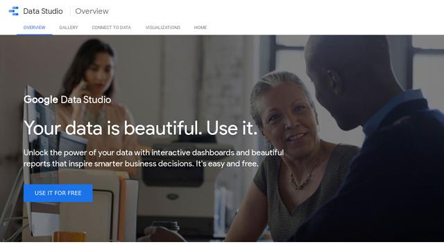 Google-Data-Studio API koppeling