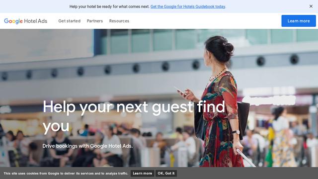 Google-Hotel-Ads API koppeling