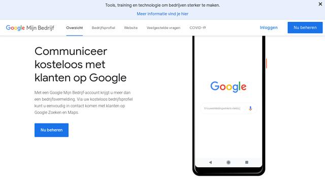 Google-My-Business API koppeling