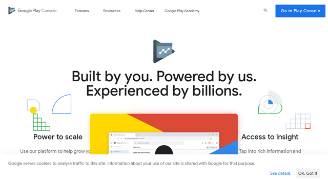 Google-Play-Console API koppeling