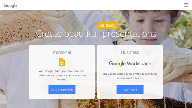 Google-Slides API koppeling