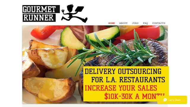 Gourmet-Runner-LA API koppeling