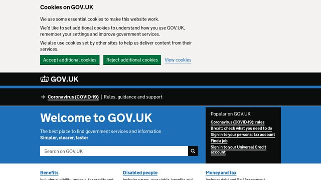 GOV.UK API koppeling