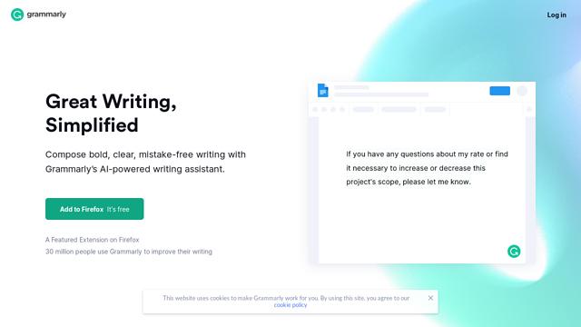 Grammarly API koppeling