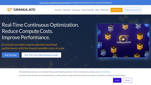 Granulate API koppeling