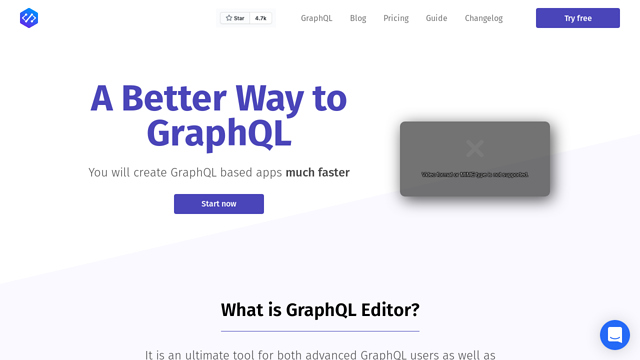 GraphQL-Editor API koppeling
