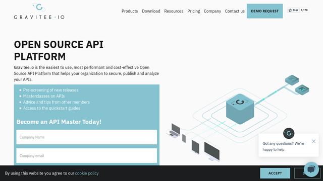 Gravitee-IO API koppeling