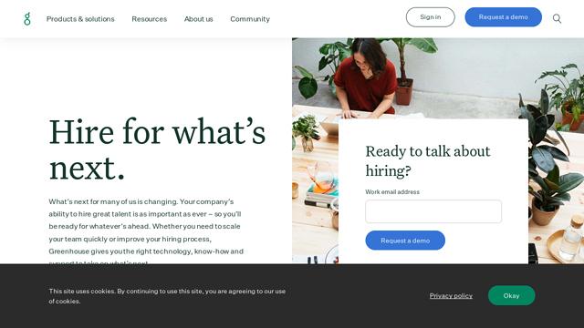 Greenhouse API koppeling