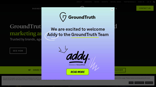 GroundTruth API koppeling